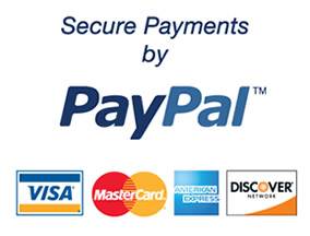 Pay safely with credit card (all major cards accepted)